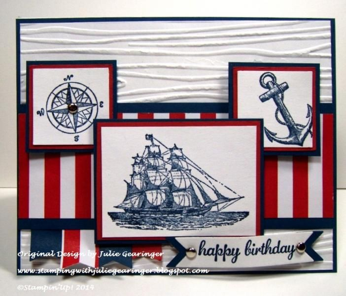 Nautical Birthday for Three Challenges
