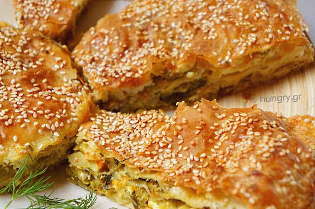 Kitchen Stories: Zucchini Pie with Greek Feta