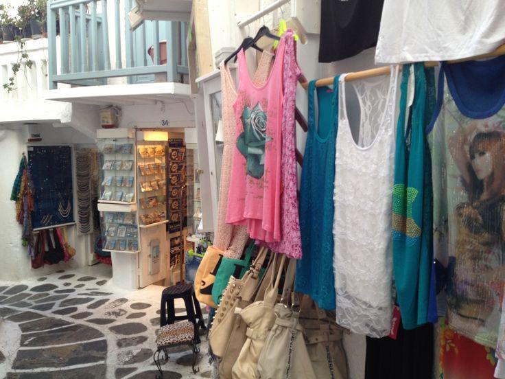 Shop from Mykonos (Mökene)    Mykonos, Lesvos, Μύκονος, Mökene, Mytillini, Athens, Tyre, Santorini, Oia, Fira, Greece, Grek, Summer, Holiday via Tanerozcelik.com