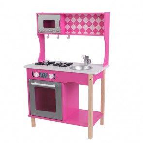 Pinke Kinderküche Sweet Sorbet von KidKraft mit extra viel Zubehör