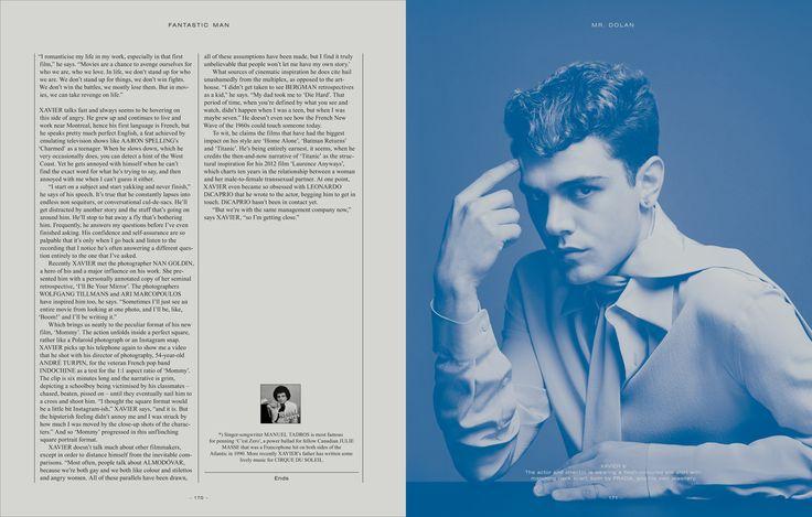 Xavier Dolan, (perfection) in Prada, Fantastic Man Magazine 2014
