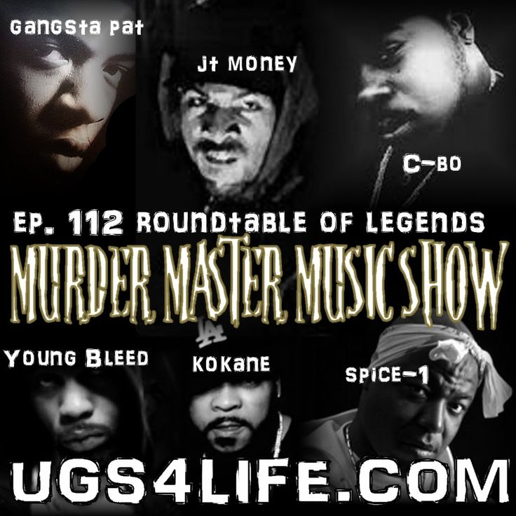 Legends Round Table with Spice-1, JT Money, Young Bleed, Gangsta Pat, C-...