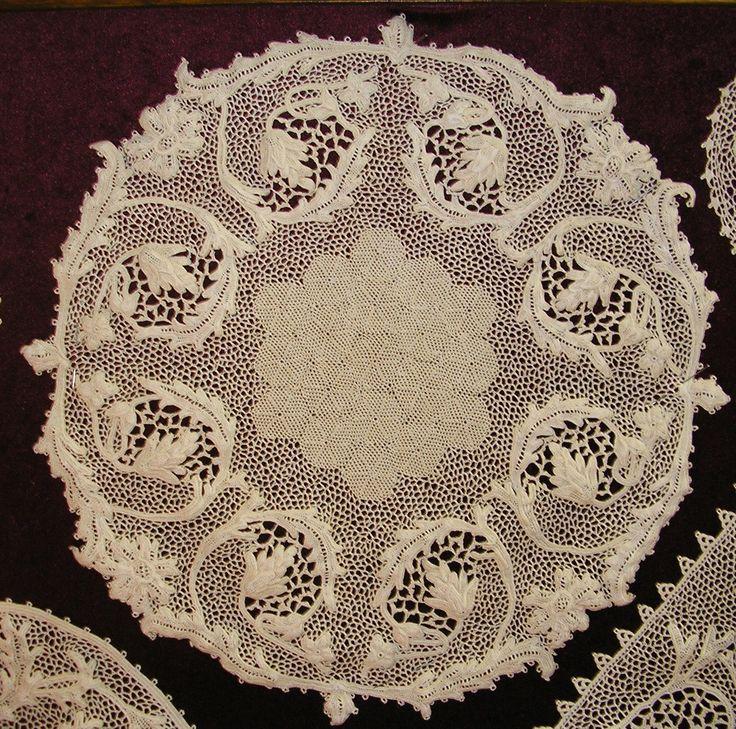 Beautiful crochet Orvieto lace