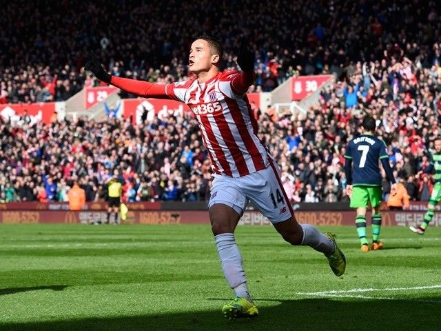 Ibrahim Afellay in line for Stoke City return against Liverpool