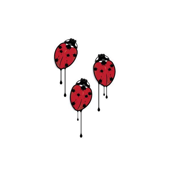 3D Ladybug illustration
