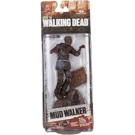 McFarlane Toys The Walking Dead TV Series 7 Mud Walker Action Figure, Assorted