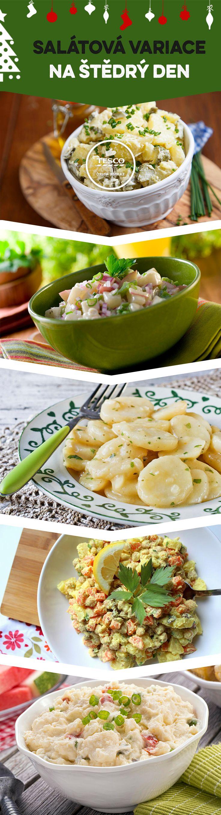 Co rodina, to jiný recept na salát! Zkuste jeden z našich.