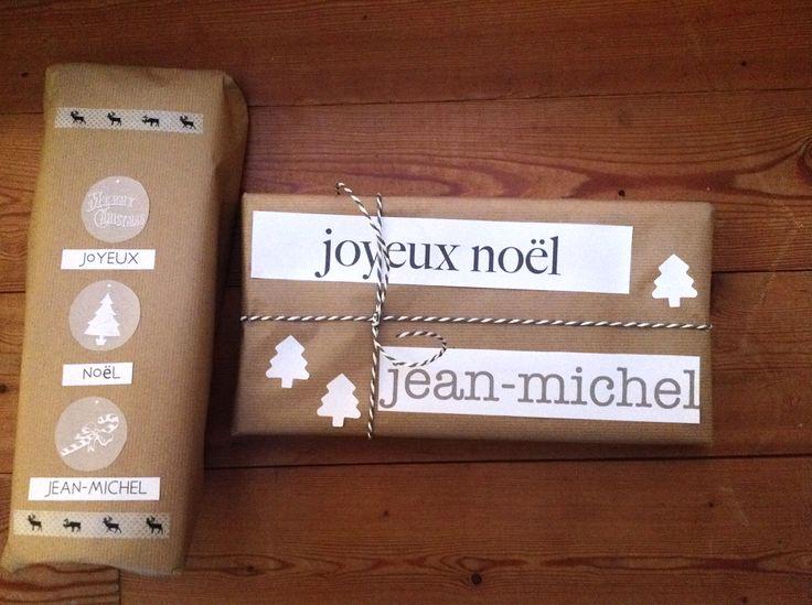 Paquets cadeaux Noël 2014