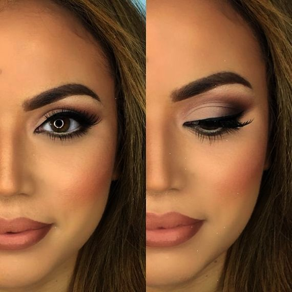 Natural Makeup Looks Simple Everyday Easy Look And Ideas For Brown Eyes Tutorial For Teens Afr Wedding Eye Makeup Wedding Makeup For Brown Eyes Evening Makeup