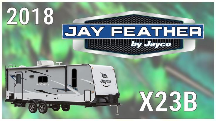 2018 Jayco Jay Feather X23B Travel Trailer RV For Sale Hamiltons RV Outlet Explore this 2018 Jayco Jay Feather X23B and more at http://ift.tt/2kPtzZ0 or call Hamiltons RV today at 989-702-2735!  Travel with the whole family and explore new places with a new 2018 Jay Feather X23B. Find yours today at Hamiltons RV Outlet!  This is a double-axle travel trailer with a distinctive graphics package Equa-Flex suspension one slide out power awning with LED lights 2 popouts and exterior TV bracket…