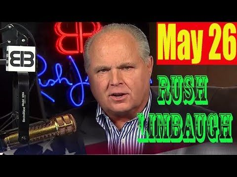 Rush Limbaugh Radio 5/26/17 - (FULL) Russians Hack Hillary Speech, Cause Coughing Fit!