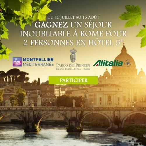 Montpellier : Gagnez un séjour à Rome avec Montpellier Médiaterranée !
