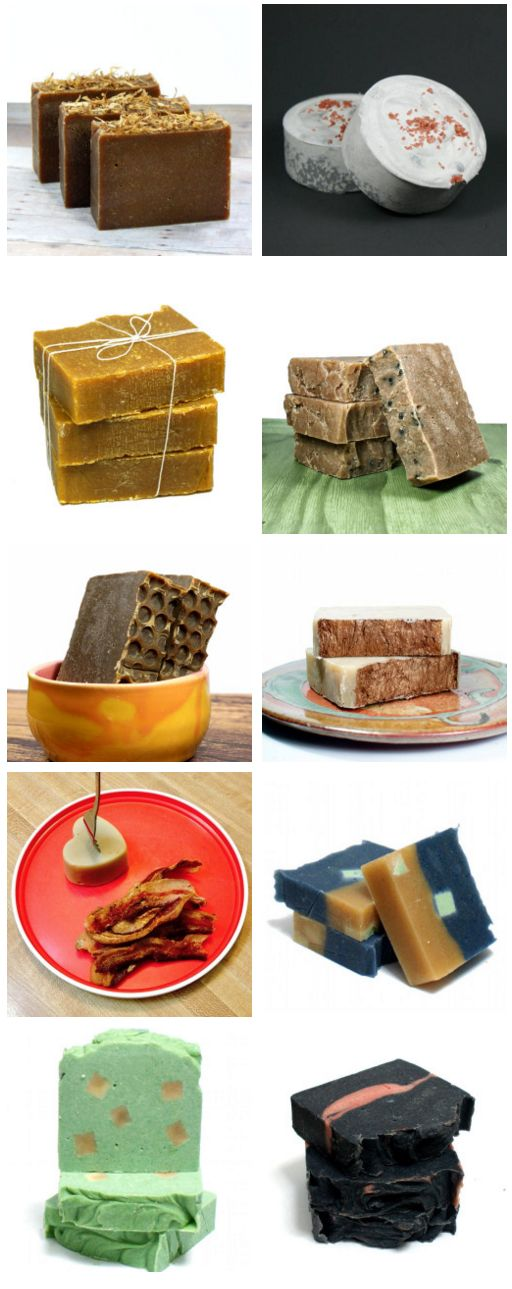 A fantastic collection of fourteen homemade palm free cold process soap recipes.