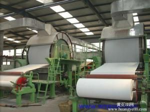 Top Quality Tissue Paper Machine Price, Toilet Roll Making Machine, Waste Paper Recycling Machine