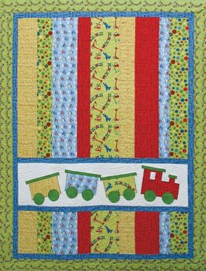 Quilt Patterns – Quilting Patterns I lovethe easy strips and appliqué section