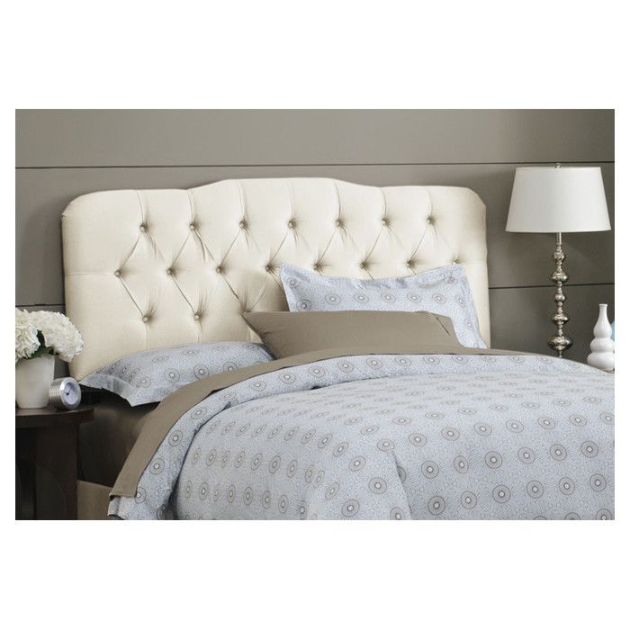 Skyline Furniture Tufted Arch Upholstered Headboard Wayfair