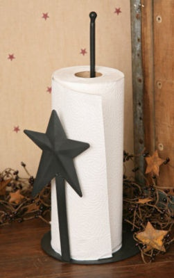 Primitive Star Paper Towel Holder  ~from Country Craft House