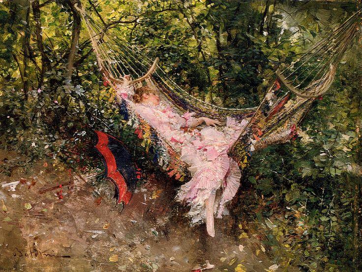 Dans le hamac (1872-74) by Giovanni BOLDINI