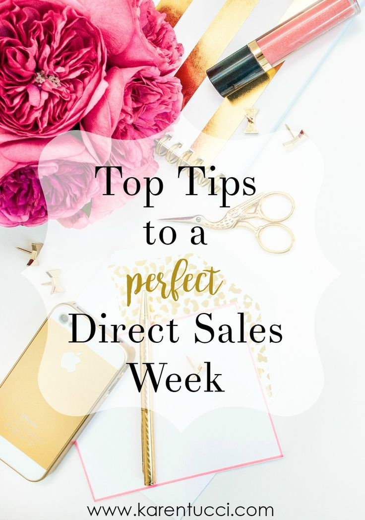 Are you struggling to get organized in your direct sales business? Are you strapped for time to get everything done in a given week? ...