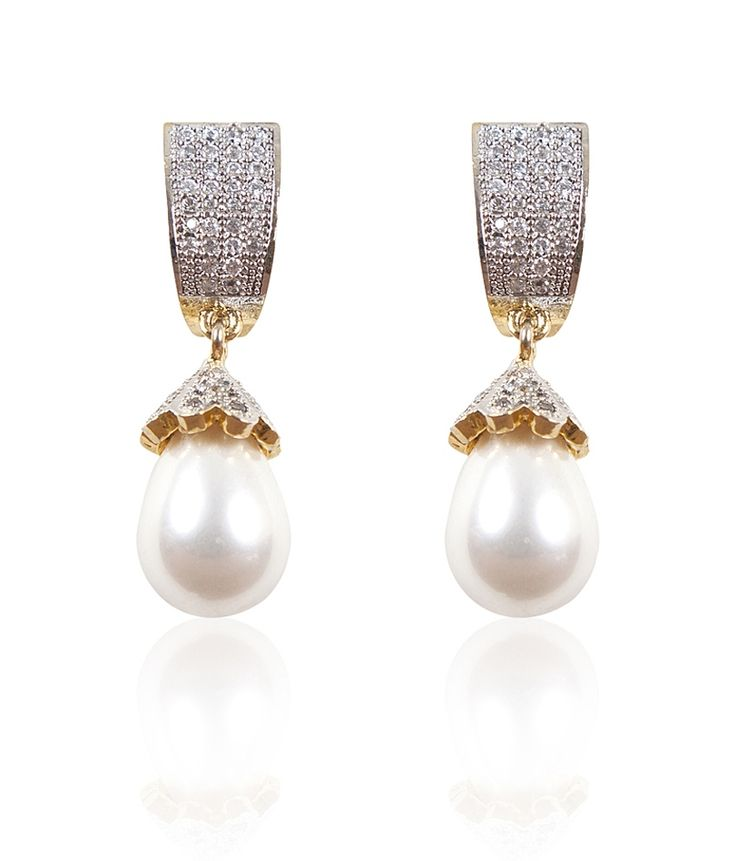 American Diamond Drop Earrings, http://www.snapdeal.com/product/american-diamond-drop-earrings/2147042458