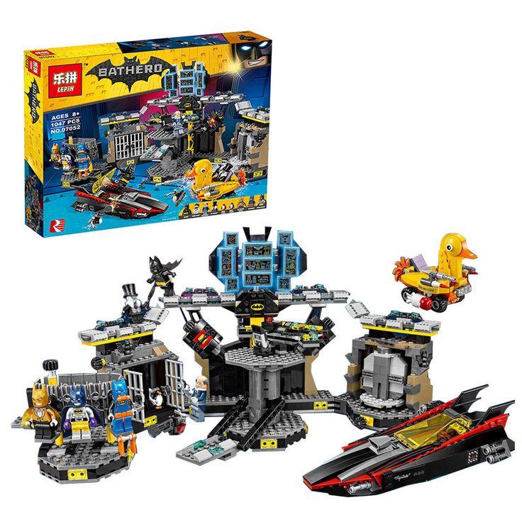 >> Click to Buy << Hot 1047 Unids Lepin 07052 Genuino Serie de Peliculas de Batman 70909 Baticueva Break-in Kit Educativo Building Blocks Ladrillos #Affiliate