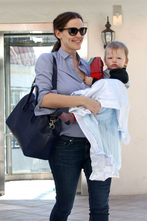 Jennifer Garner & Her Brentwood Boy