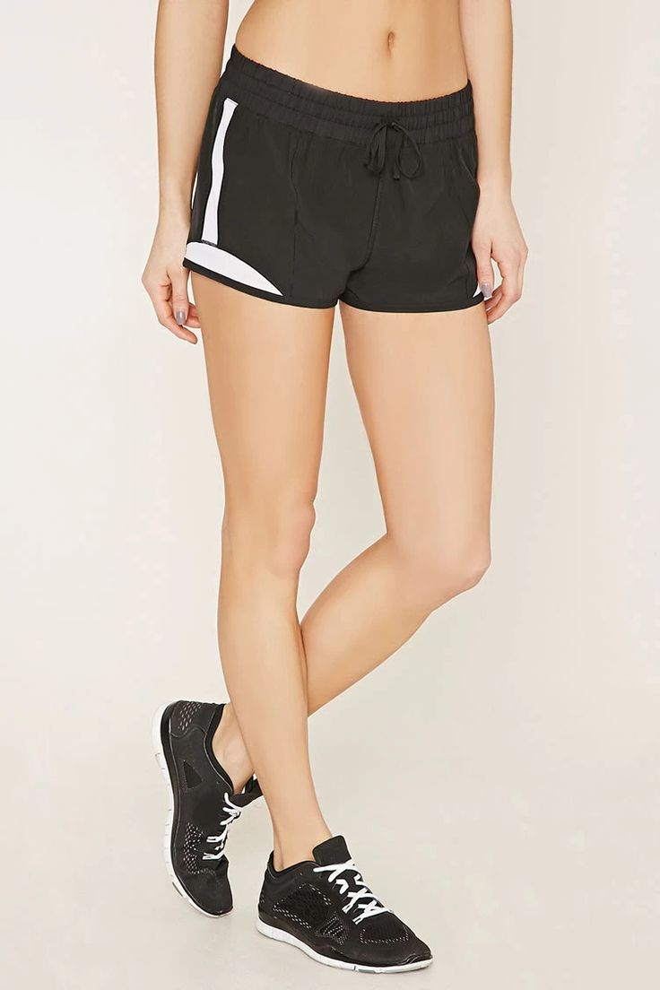 Active Mesh-Paneled Shorts #f21active
