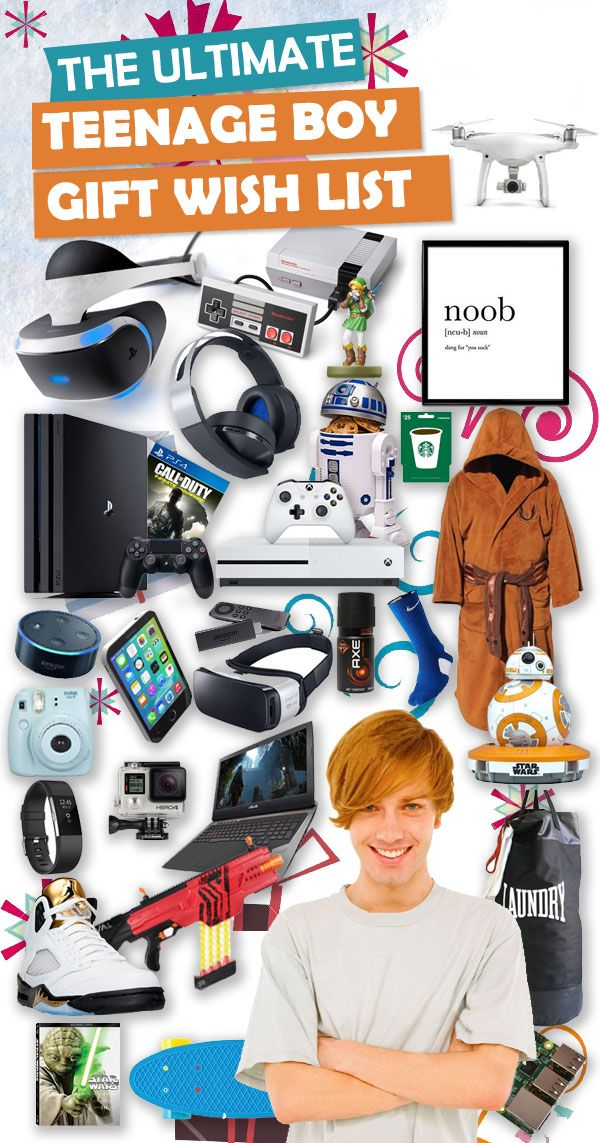 Parents, save this list! This ULTIMATE list contains over 350+ gifts for teenage boys. If he wants it, it is guaranteed to be on this list.