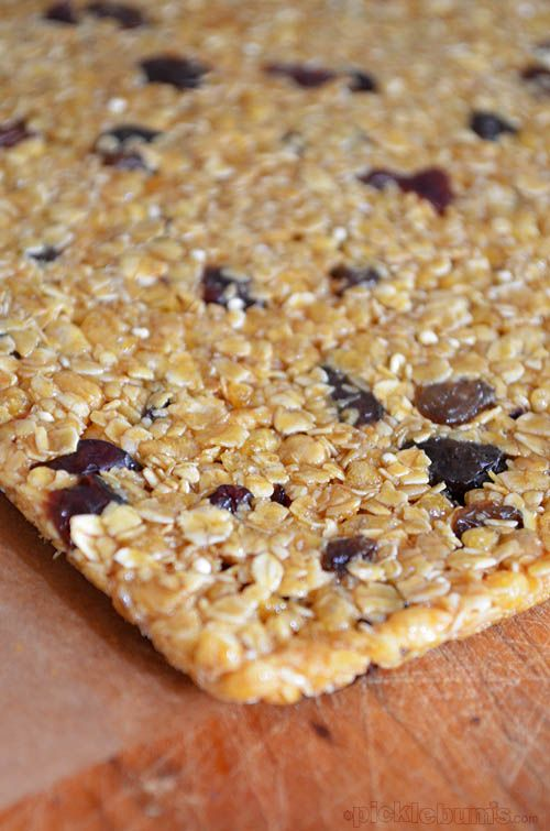 homemade muesli bars - I share my tips for getting it right
