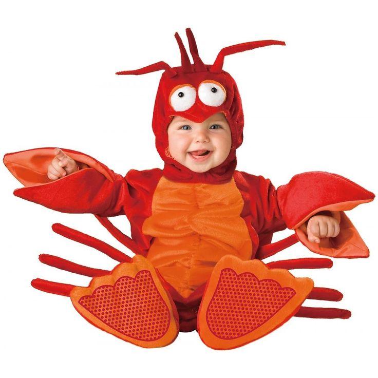 Baby Lobster Costume Deluxe Infant Halloween Fancy Dress #lobster