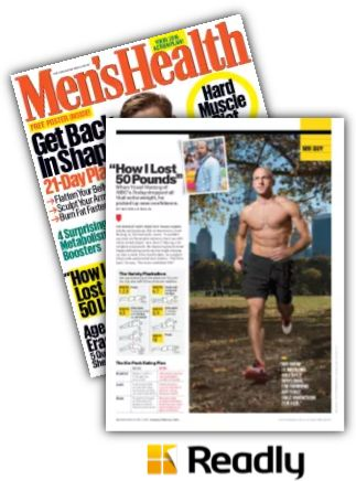 Suggestion about Men's Health Jan-Feb 2016 page 12