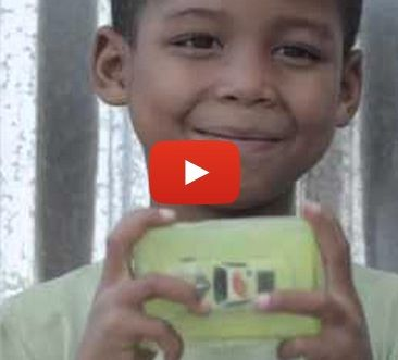 Ingenious humanitarian effort adorably and creatively motivates South African children to wash with soap
