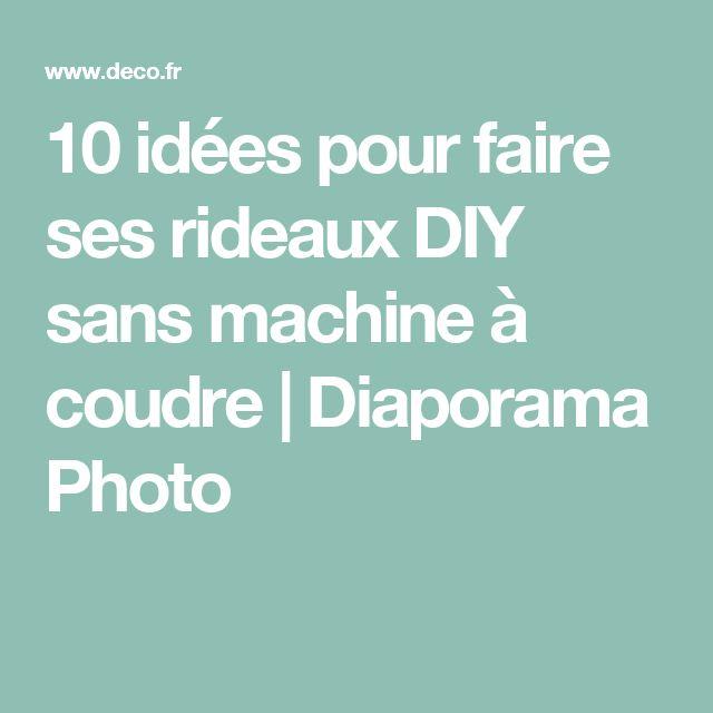 10 idées pour faire ses rideaux DIY sans machine à coudre | Diaporama Photo