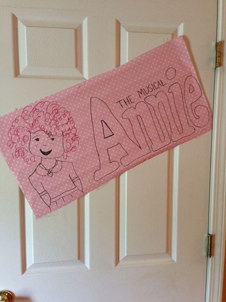 Annie birthday quote sign