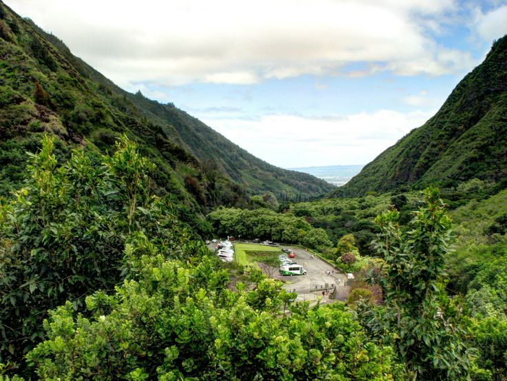 View of north coast of Maui from Iao Valley.  Photo by Tim Falkenberg