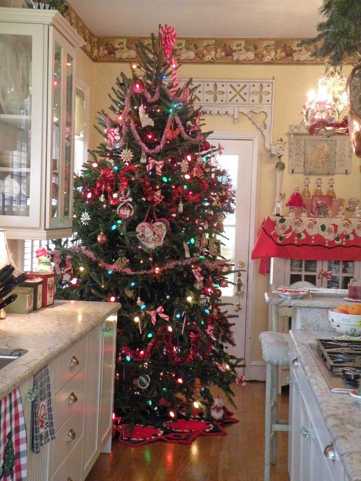 153 best Holiday Kitchens images on Pinterest Kitchen ideas, La - christmas kitchen decor