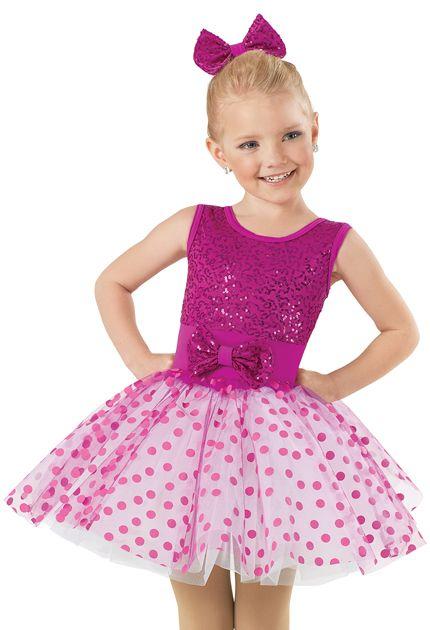 Weissman™ | Sequin Polka Dot Party Dress