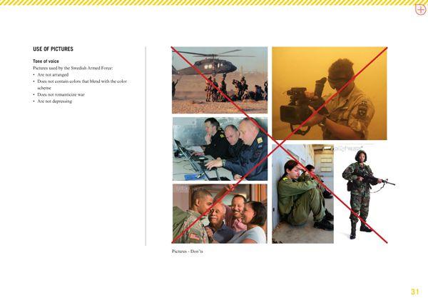 swedish armed forces forbidden images