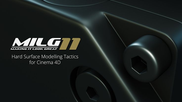 Hard Surface Modelling Tactics For Cinema 4D from helloluxx