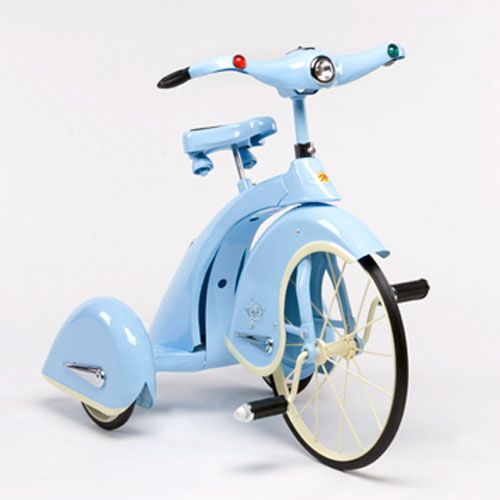 Sky King Tricycle In Blue : Toys For Boys at PoshTots