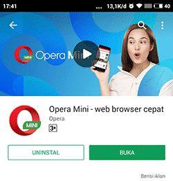 BUKA! caranya masuk Instagram lewat browser Opera Mini tanpa aplikasi IG yang harus di instal karena kita login atau sign in Instagram di web / UC Browser