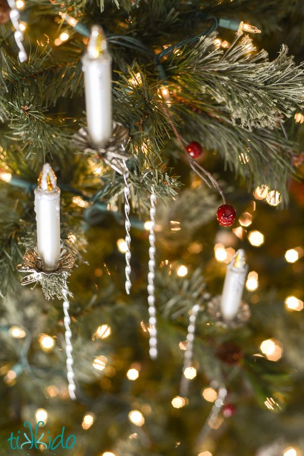 How Are Christmas Ornaments Made Part - 37: How To Make Victorian Style Christmas Tinsel Ornaments. Modeled After The Ornaments  Made From Cornish
