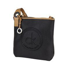 CK CALVIN KLEIN Umhängetasche mit Logo-Prägung in Schwarz   FASHION ID Online Shop