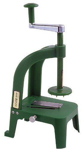 The best kitchen gadget invented to help you get your fruits and veggies!!!    Benriner Cook Helper Slicer by Benriner, http://www.amazon.com/dp/B000BI6CZ8/ref=cm_sw_r_pi_dp_f68orb0TA3A1T