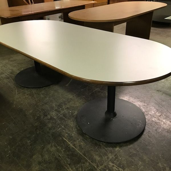 """Steelcase Racetrack Conference Table 