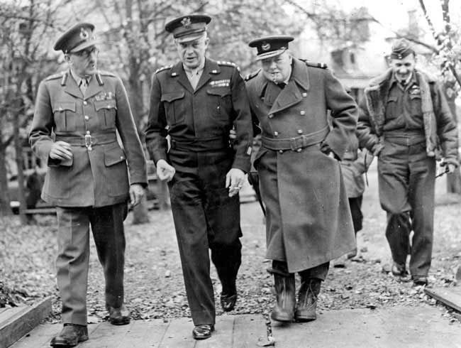 A history of the career of sir winston churchill