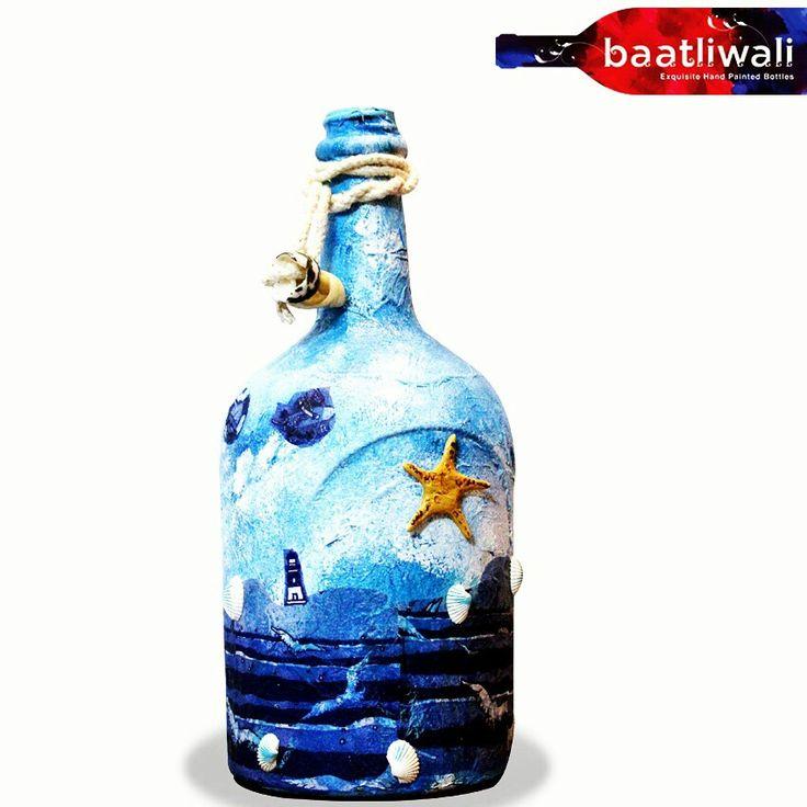 Beach on bottle
