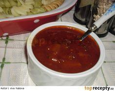 Cuketová omáčka na špagety