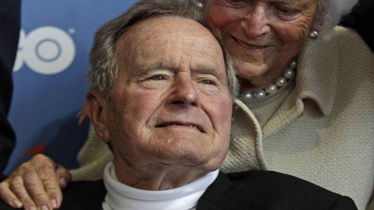 Ex presidente de EEUU George Bush padre señalado de manosear a actriz