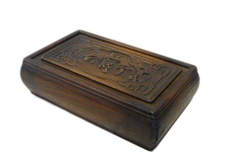 Chinese Huali Rosewood Handcrafted Storage Box cs696-6 #Handmade #Asian 650-522-9888 goldenlotusinc@yahoo.com #box #gift #shopping #holiday #Christmas #Homedecor